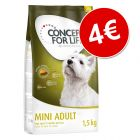 Concept for Life 1,5 kg pienso ¡solo por 4 €!