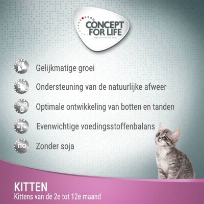Concept for Life Kitten - in Saus Kattenvoer