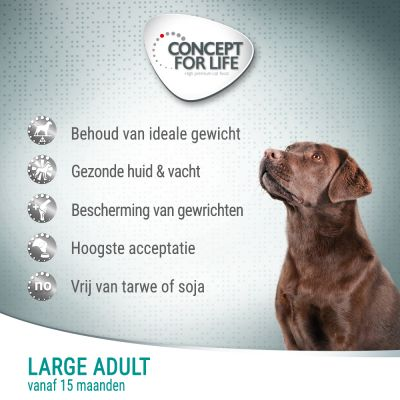 Concept for Life Large Adult Hondenvoer