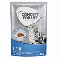 Concept for Life Light en sauce pour chat
