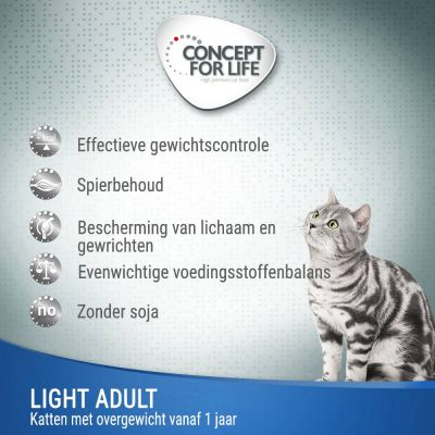 Concept for Life Light - in Gelei Kattenvoer