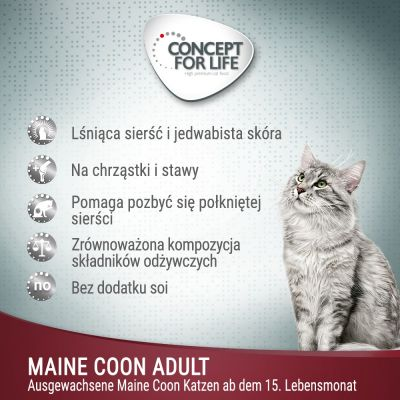 Concept for Life Maine Coon Adult, ragout