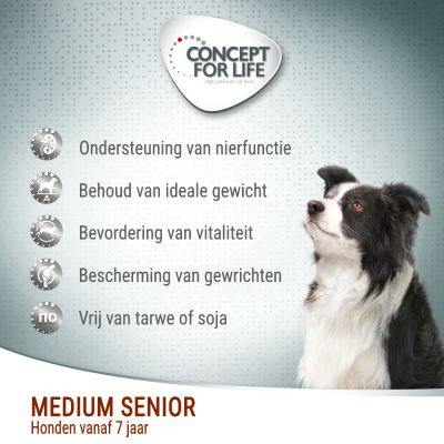 Concept for Life Medium Senior Hondenvoer