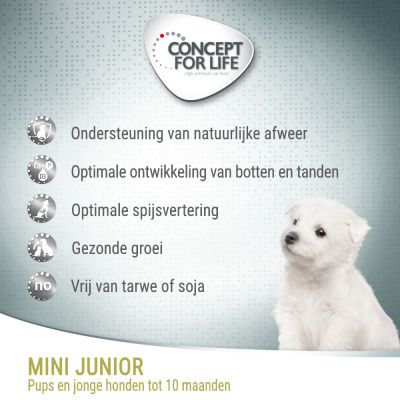 Concept for Life Mini Junior Hondenvoer