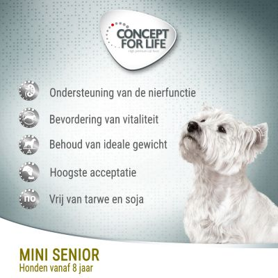Concept for Life Mini Senior Hondenvoer