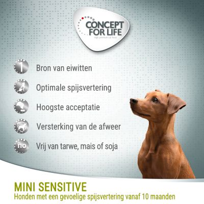 Concept for Life Mini Sensitive Hondenvoer