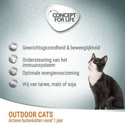 Concept for Life Outdoor Cats kattenvoer