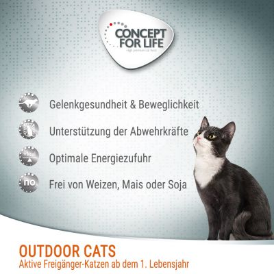 Concept for Life Outdoor Cats pour chat