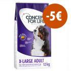 Concept for Life pienso para perros 12 kg ¡con 5€ de descuento!