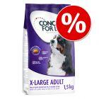 Concept for Life pour chien : 1,5 kg à prix avantageux !