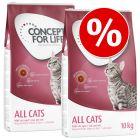 Concept for Life ração para gatos - Pack económico