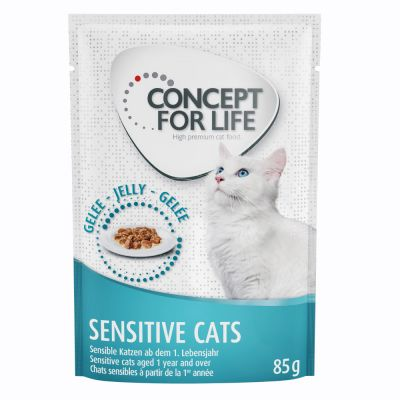 Concept for Life Sensitive Cats en gelée