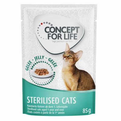 Concept for Life Sterilised Cats en gelée pour chat