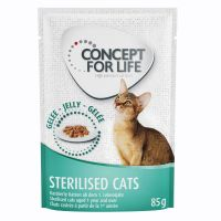 Concept for Life Sterilised Cats - in Jelly