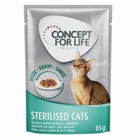 Concept for Life Sterilised Cats - in Saus Kattenvoer