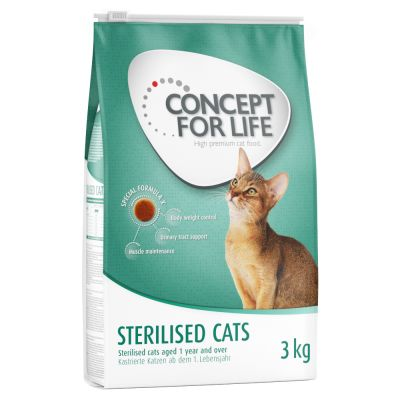 Concept for Life Sterilised Cats Kattenvoer