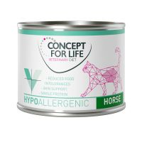 Concept for Life Veterinary Diet Hypoallergenic Cavallo Gatto