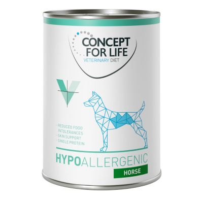 Concept for Life Veterinary Diet Hypoallergenic cheval pour chien