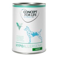 Concept for Life Veterinary Diet Hypoallergenic con caballo para perros