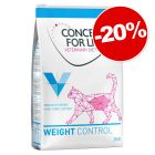 Concept for Life Veterinary Diet 3 kg pour chat : 20 % de remise !