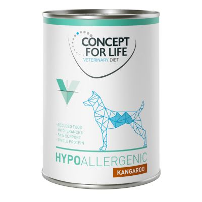 Concept for Life Veterinary Diet para perros 24 x 400 g - Pack Ahorro