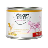 Concept for Life Veterinary Diet Urinary bœuf pour chat