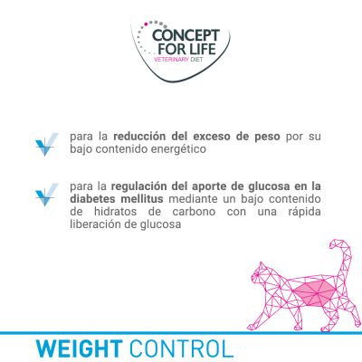Concept for Life Veterinary Diet Weight Control para gatos