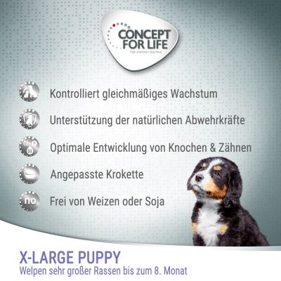 Concept for Life X-Large Puppy