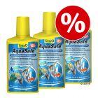 Conditionneur d'eau pour aquarium Tetra Aqua Safe 3 x 500 mL