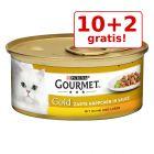 10+ 2 conservă gratis! 12 x 85 g Gourmet