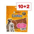 Cookie's Delikatess purutikut 12 x 200 g: 10 + 2 kaupan päälle!