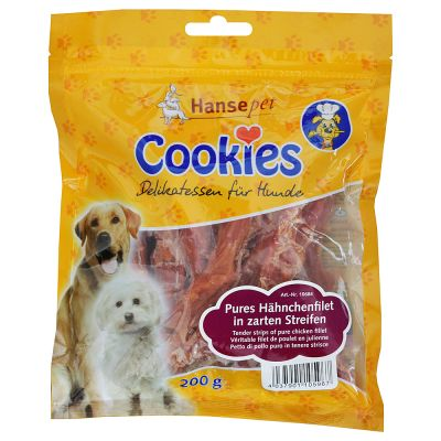 Cookie's Snacks -  Chicken Fillets Saver Pack 3 x 200g