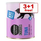 Cosma Snackies and XXL Snackies Maxi Tubes Cat Snacks - 3 + 1 Free!*
