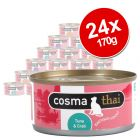 Cosma Thai in Jelly Saver Pack 24 x 170g