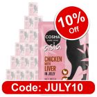 Cosma Asia in Jelly Pouches Saver Pack 24 x 100g
