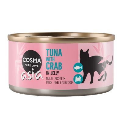 Cosma Asia in Jelly Saver Pack 24 x 170g