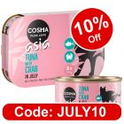 Cosma Asia in Jelly 6 x 170g