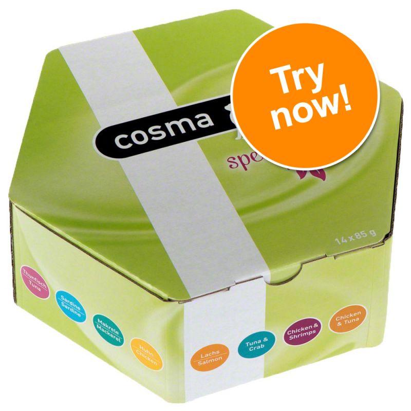 Cosma Gourmet Box Mixed Pack 14 x 85g