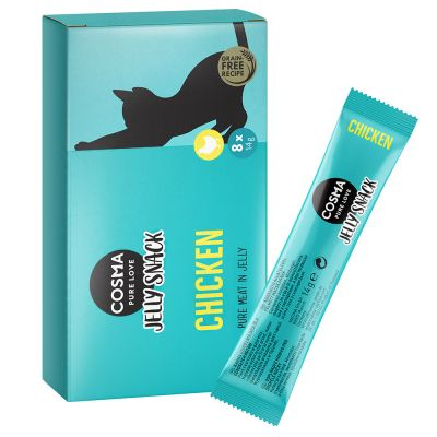 Cosma Jelly Snack 8 x 14 g pour chat