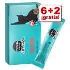 Cosma Jelly 8 x 14 g snacks para gatos en oerta: 6 + 2 ¡gratis!
