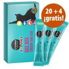 Cosma Jelly 24 x 14 g snacks para gatos en oferta: 20 + 4 ¡gratis!