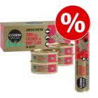 Cosma karácsonyi vegyes csomag: 25 g Snackies + 4 x 50g Nature nedvestáp