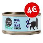 Cosma Nature comida húmida 6 x 70 g por apenas 4 €!