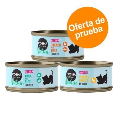 Cosma Nature Kitten - Pack mixto