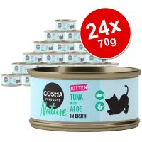 Cosma Nature Kitten Saver Pack 24 x 70g