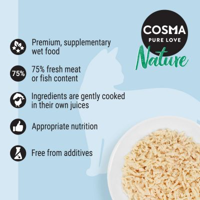 Cosma Nature Mixed Trial Pack 6 x 140g