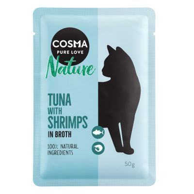 Cosma Nature Pouches Saver Pack 18 x 50g