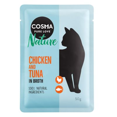 Cosma Nature Pouches 6 x 50g