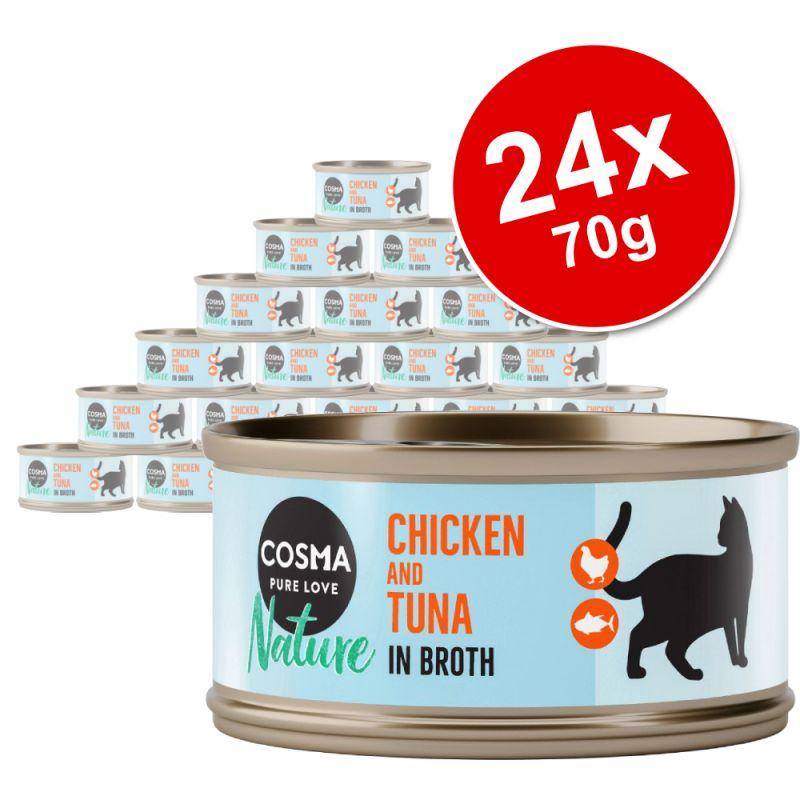 Cosma Nature Saver Pack 24 x 70g