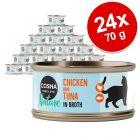 Cosma Nature Voordeelpakket Kattenvoer 24 x 70 g